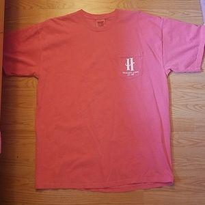 Hogwarts Alumni Faded pink t shirt